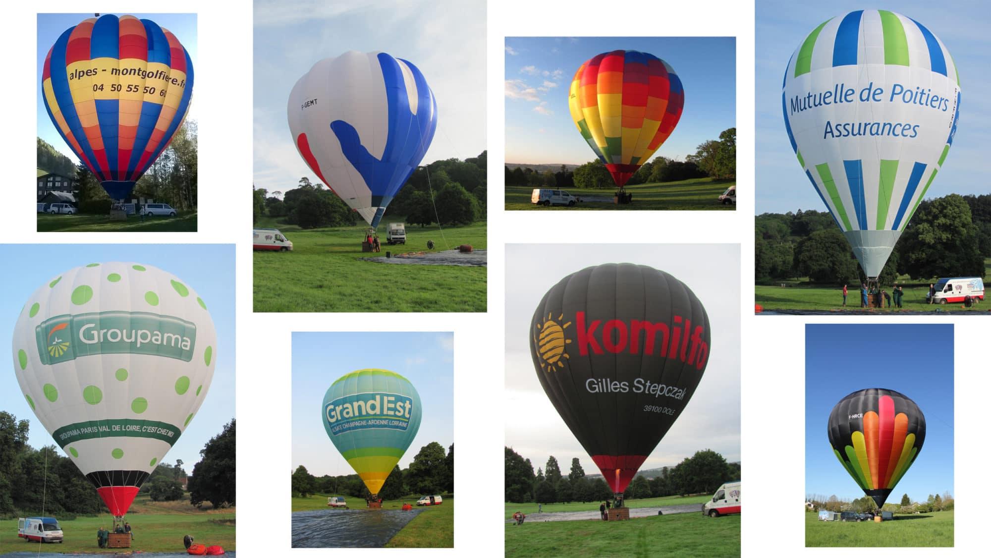 réalisations pour les sociétés clientes de Cameron Balloons France
