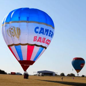 envol montgolfière