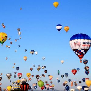 rassemblement montgolfière