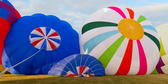 phase gonflage ballon