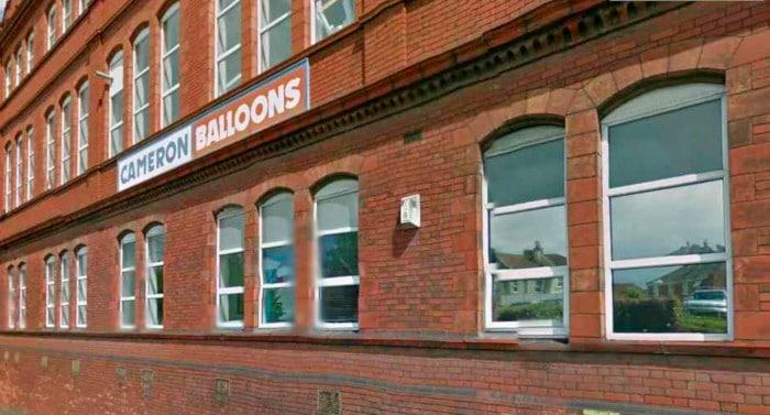 Siège de Cameron Balloons à Bristol en Angleterre