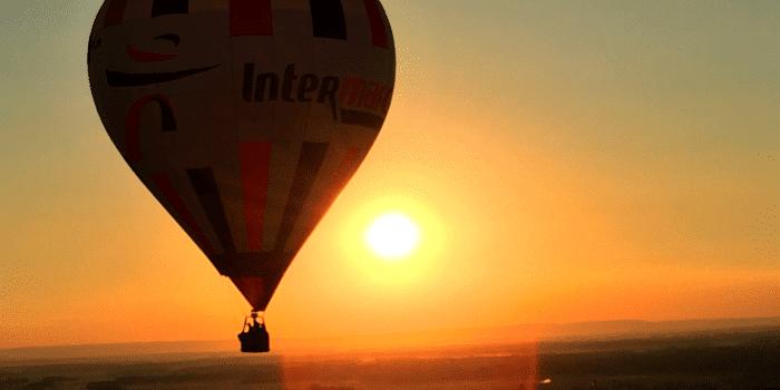 vol montgolfière soir