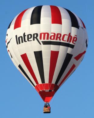 Enveloppe Cameron Balloons Type Z pour l'enseigne Intermarché