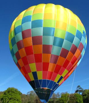 montgolfière de particulier