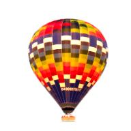montgolfière de transport de passgers